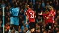 ĐIỂM NHẤN Man City 0-0 Man United: Khi Mourinho và Guardiola đổi vai. Eric Bailly phòng ngự 'cực đỉnh'