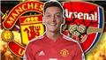 Mesut Oezil nói với đồng đội ở Arsenal rằng muốn tới M.U ngay trong tháng Một này