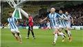 Video clip highlights bàn thắng trận Huddersfield Town 2-1 M.U
