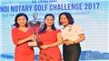 Golfer nữ Trần Mai Anh vô địch giải HANOI NOTARY GOLF CHALLENGE 2017
