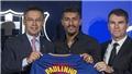 Paulinho bị CĐV ghẻ lạnh, châm chọc khi ra mắt Barca bằng màn tâng bóng 'thảm họa'