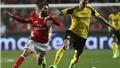 Aubameyang đá hỏng 11m, Dortmund trắng tay trước Benfica
