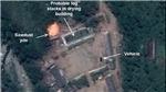 Vệ tinh phát hiện các phương tiện tại địa điểm thử hạt nhân của Triều Tiên
