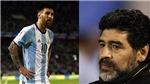 Rộ tin Maradona 'đâm lén', khiến Messi bị FIFA treo giò 4 trận