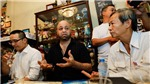 Cao thủ Vịnh Xuân Flores: 'Tôi sẽ bái sư nếu ông Huỳnh Tuấn Kiệt có thể phóng điện'
