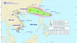 Bão Hato xuất hiện phía Đông Bắc đảo Luzon, gần biển Đông
