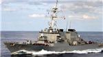 Vụ tàu khu trục Mỹ va chạm ở gần Eo biển Malacca: 10 thủy thủ mất tích, 5 người bị thương