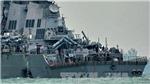 Hải quân Mỹ điều thợ lặn tìm kiếm 10 thủy thủ mất tích