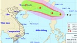 Bão HATO hướng vào Biển Đông và đang mạnh lên