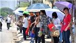 Hà Nội tiếp tục nắng nóng, bão HaTo mạnh lên trên biển