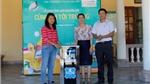 Tập đoàn Hương Sen và Máy lọc nước Karofi đồng hành cùng học sinh nghèo đến trường