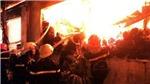 Hà Nội: Cháy lớn tại thị trấn Xuân Mai, hai người tử vong