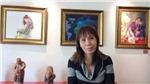 Họa sĩ Bạch Hoàng Anh bán chân dung để làm thiện nguyện