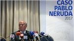 Chưa thể kết luận cái chết của đại thi hào Chile Pablo Neruda có phải do ám sát