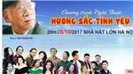 'Hương sắc tình yêu' tôn vinh nhạc sĩ Đinh Quang Hợp
