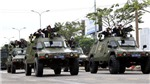 Cận cảnh những màn võ thuật và dàn xe đặc chủng chống khủng bố bảo vệ APEC