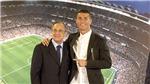 Florentino Perez:  'Không thể có chuyện Cristiano Ronaldo rời Real Madrid'