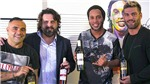 Sau bao cao su, Ronaldinho lập hãng rượu 'Quả bóng Vàng'