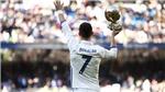 Cristiano Ronaldo giành giải The Best: Hiện thân của những giấc mơ bóng đá