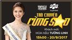 Livestream trò chuyện cùng á quân The Face, Hoa hậu Tường Linh trước ngày thi 'Hoa hậu Liên lục địa'