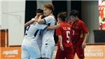 TRỰC TIẾP, Futsal nữ Việt Nam 1-3 Thái Lan: Nguyễn Thị Huệ ghi bàn danh dự (KT)