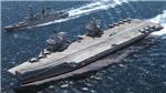 VIDEO: Sức mạnh 'vô đối' của tàu sân máy lớn nhất châu Âu vừa mới hạ thủy