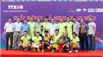 Giải bóng đá giao hữu cúp Tứ Hùng TTXVN 2017: Đội VOV giành chức vô địch