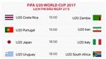 TRỰC TIẾP FIFA U20 World Cup 2017: U20 Nhật Bản - U20 Italy; U20 Uruguay - U20 Nam Phi
