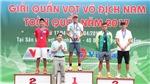 Minh Tuấn lên ngôi vô địch giải quần vợt nam toàn quốc 2017