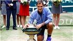 Roger Federer đã 'lên dây cót' cho Wimbledon bằng chức vô địch Halle Open