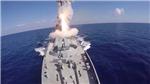 Tên lửa hành trình phóng từ tàu ngầm Nga san phẳng căn cứ khủng bố