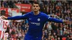 CẬP NHẬT bàn thắng Stoke 0-1 Chelsea: Pedro nhân đôi cách biệt