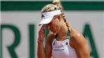 Angelique Kerber bất ngờ bị loại ngay từ vòng 1 Roland Garros