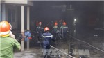 Cháy dữ dội tại Khu công nghiệp Trà Nóc, hàng nghìn công nhân bỏ chạy