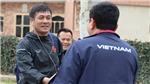 HLV Hữu Thắng bất ngờ với chất lượng cỏ nhân tạo tại Dushanbe