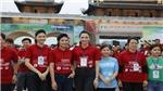Hoa hậu Ngọc Hân xuống đường chạy marathon