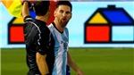 Leo Messi chính thức bị treo giò 4 trận vì lăng mạ trọng tài