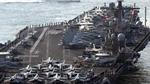 Tàu sân bay USS Carl Vinson vào vị trí có thể vươn tầm bắn tới Triều Tiên