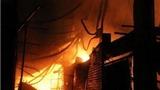 Cháy chợ ở Sóc Trăng làm 22 căn nhà bị thiêu rụi