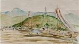 Xem tranh vẽ nơi đoàn quân Tây Tiến xuất binh