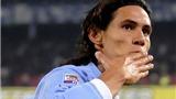 "Juventus ""tấn công"" Napoli liên tục: 40 triệu euro + Giovinco = Cavani"
