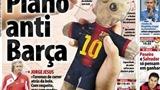 Nóng: Báo Bồ Đào Nha yểm bùa Messi