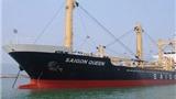 Tàu Saigon Queen chìm ở Srilanka, mới cứu được 18/22 thuyền viên