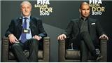 HLV xuất sắc nhất năm: Del Bosque đã chọn Pep Guardiola
