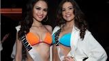 Diễm Hương tự tin trình diễn bikini trước BGK Miss Universe