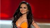Diễm Hương đẹp rạng rỡ đêm bán kết Miss Universe
