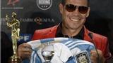 Bầu chọn VĐV xuất sắc nhất Argentina 2012: Messi chỉ xếp thứ 3