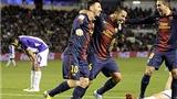 Valladolid 1-3 Barcelona: Quà giáng sinh sớm cho Tito