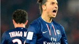 """PSG vô địch lượt đi: Vương miện cho """"Con quỷ"""" Ibrahimovic!"""