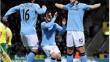 VIDEO: Dzeko lập hat-trick, Man City giành điểm trong trận cầu có 7 bàn thắng